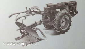 Energic 412 motoculteur with plough www.energic.info