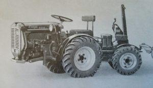 Energic 4 RM 12 tracteur Sachs diesel www.energic.info