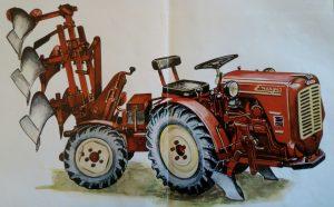 Energic 4 RM 12 tracteur Sachs diesel (second revision tracteur).