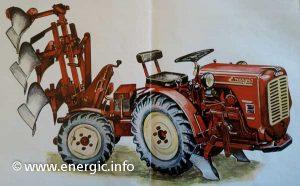 Energic 4 RM 12/18 tracteur brochure 1962 www.energic.info