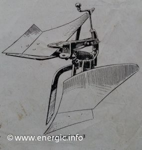 Energic 409/411 attachments - plough No 3 www.energic.info