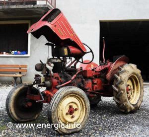 Energic 511 tracteur mark 1 model 1954 series A www.energic.info