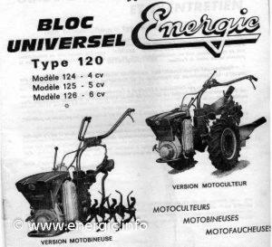 Energic motoculteur 120 range www.energic.info