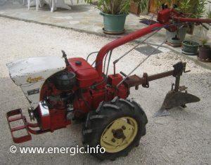 Energic motoculteur 312 12cv Lombardini engine www.energic.info