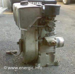 Energic series 220 Motoculteur 228 moteur Bernard W810 ww.energic.info