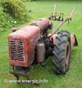 Energic tracteur 410 with rotivator www.energic.info