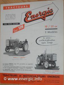 Energic tracteur petrol/essence 519 www.energic.info