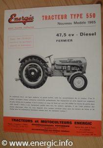 Energic 550 Tracteur (1965/6) www.energic.info