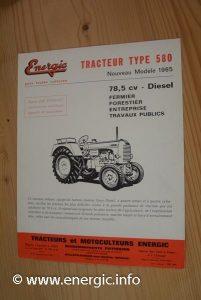 Energic 580 (78.5cv from 1965) www.energic.info