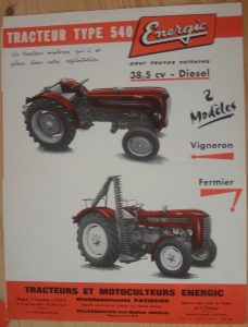 Energic 540 Tracteur (38.5cv 1960) www.energic.info