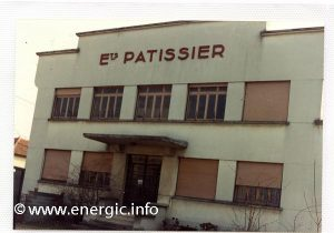 Energic factory/offices entrance at Ets Patissier in Villefranche-sur-Sâone www.energic.info