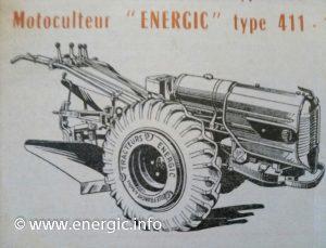Energic 411 motoculteur 11cv www.energic.info