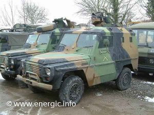 Indenor engined french military vehicle www.energic.info