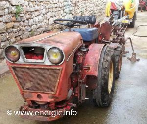 Energic 4 RM 35 tracteur 1500cc Slanzi moteur www.energic.info