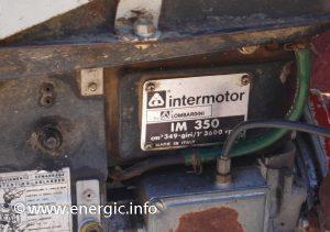 Energic motoculteur 350 moteur plaque www.energic.info