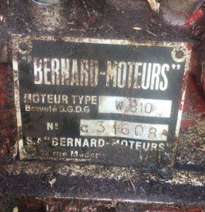 Energic motoculteur 228 8cv moteur plaque www.energic.info