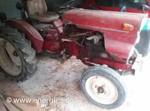 Energic tracteur 521 Slanzi 2 cylinder vigneron 1968 rightl side view. www.energic.info