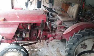 Energic tracteur 521 Slanzi 2 cylinder vigneron 1968 left side view.www.energic.info