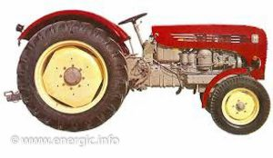 Energic 550 Tracteur ( from1965/6). www.energic.info