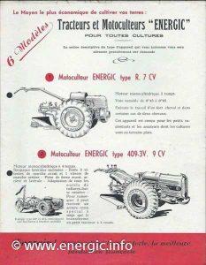 Energic prospectus 1948/9 very rare www.energic.info