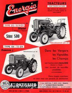 Energic tracteur 500 series showing 512 diesel tracteur www.energic.info