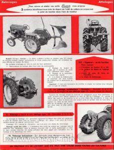 Energic tracteur 500 series technical brochure showing 512 diesel tracteur www.energic.info