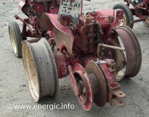 Energic tracteur 521 vigneron with winch/treuil www.energic.info