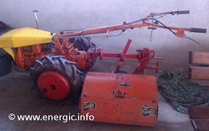 Energic motoculteur 314 with a ACME 14cv Italian engine www.energic.info