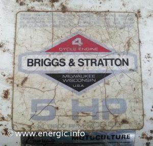Energic Rubis Briggs & Straton 5cv www.energic.info