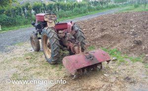 Energic tracteur 510 diesel + rotivator www.energic.info