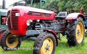 Energic 550 Tracteur (from1965/6) Steyr 288 www.energic.info