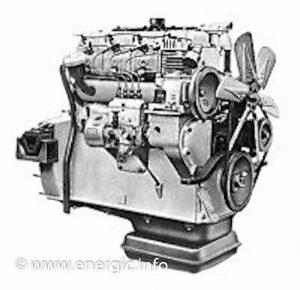 Energic engine/Moteur. Steyr – WD 413a, 4 stroke, 4 cylinders, 5322 cm 3, 78.5 cv www.energic.info
