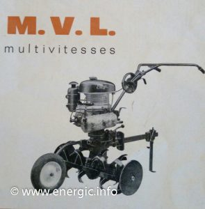 Energic Motobineuse Type 100 MVL www.energic.info