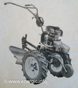 Energic Motoculteur Type 100 MM www.energic.info