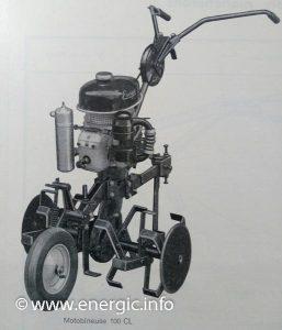Energic Motobineuse Type 100 CL. www.energic.info