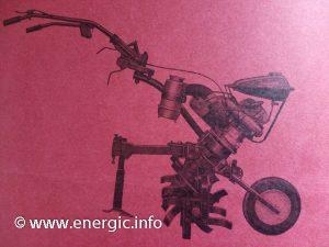 Energic Motobineuse 100 CLI www.energic.info