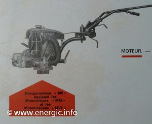 Energic 100 MM/MVL moteur ILO 2 temps www.energic.info
