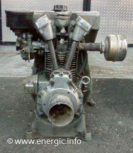 Energic motoculteur  Bernard moteurs  W810 8cv www.energic.info