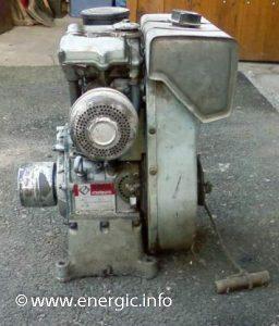 Energic series 210 Motoculteur 218 moteur Bernard W810 ww.energic.info