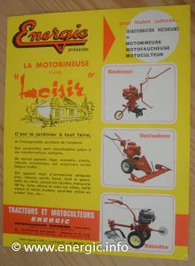 Energic general motobineuse brochure www.energic.infom