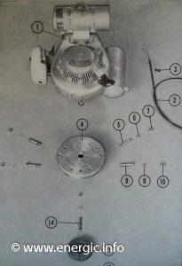 Energic Motobineuse/Motobêche Type L 77 moteur ILO 77cc www.energic.info