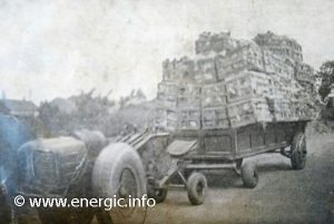 Energic 409 Pulling a a trailer to market   www.energic.info