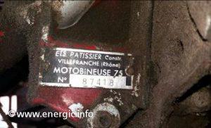 Energic motobineuse moteur plaque www.energic.info