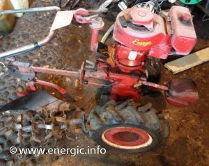 Energic Rubis motobineuse moteur Bernard W249A No.D www.energic.info