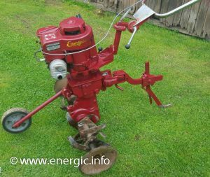 Energic motobineuse Rubis Briggs & Straton 5cv www.energic.info