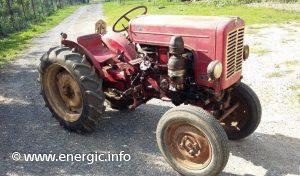 Energic 512 Tracteur 12cv Moteur Sachs www.energic.info