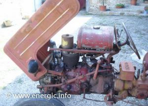 Energic 511 tracteur mark 2 engine/moteur 11cv www.energic.info