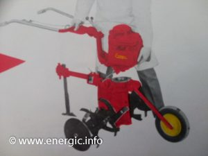 Energic motobineuse Rubis Briggs & Stratton 3.5 or 5cv in model A form www.energic.info