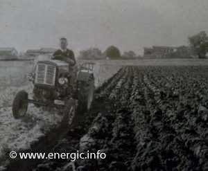 Energic 512 tracteur mark 2 demonstration work 1961 www.energic.info