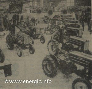 Energic large machine stand show casing tracteur range may 1960 www.energic.info